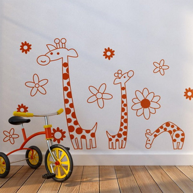 Декорирајте го домот со уникатни ѕидни налепници