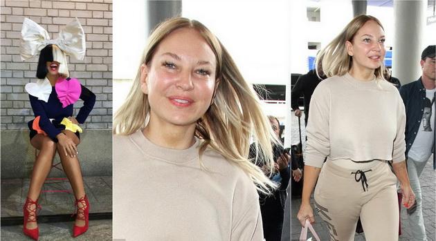 Сиа се откажа од периката и го покажа лицето во Лос Анџелес