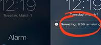 Зошто на iPhone смартфоните snooze опцијата трае 9 минути?