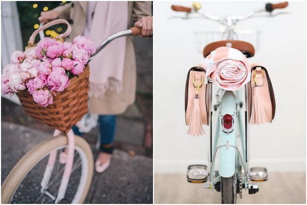 Направи сам  креативни и практични идеи за пролетно разубавување на велосипедот