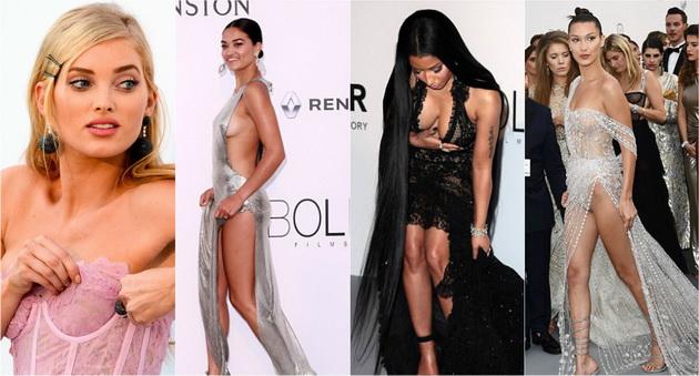 Рекорден број на модни незгоди на amfAR галата