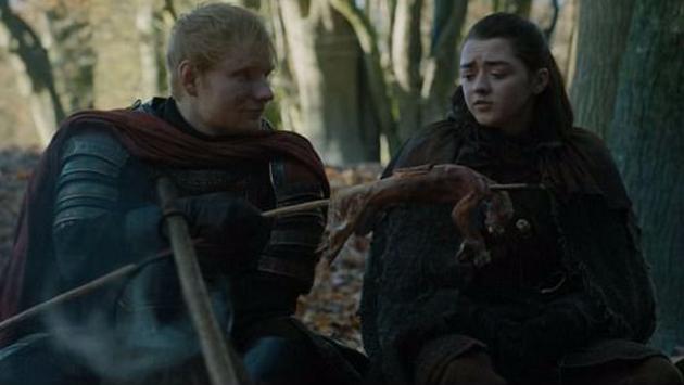 Ед Ширан се појави во првата епизода од новата сезона на  Game Оf Thrones