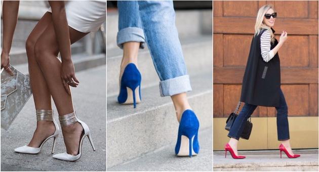 5 пара најудобни штикли  според модните уредници