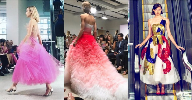 Најубавите фустани од Oscar de la Renta за пролет 2018 та   Ќе се вљубите во последниот