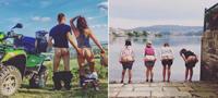Хит на Инстаграм: Разгледници од патувањата со голи задници