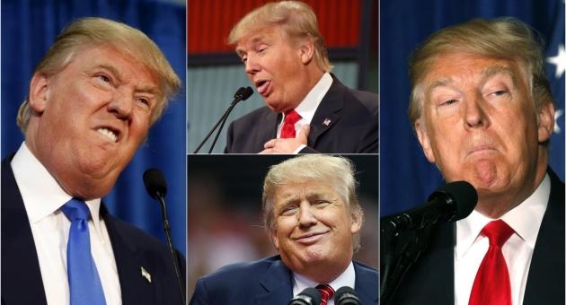 20 фотографии од смешните фацијални експресии на Доналд Трамп
