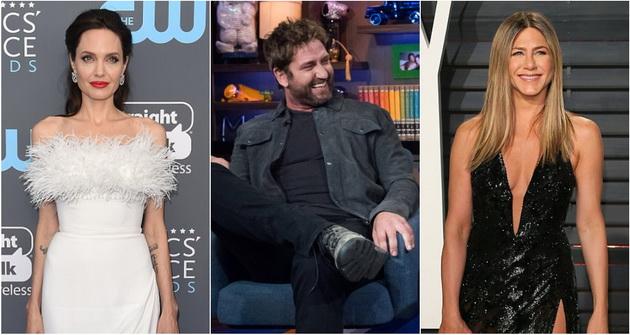 Џерард Батлер одбра  Кој се бакнува подобро   Анџелина Џоли или Џенифер Анистон