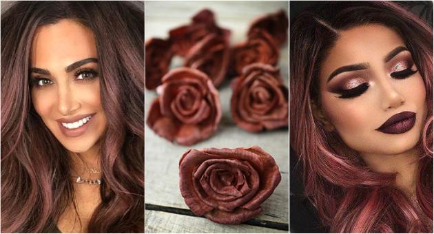 Розово кафеава  Хит нијанса за атрактивни бринети