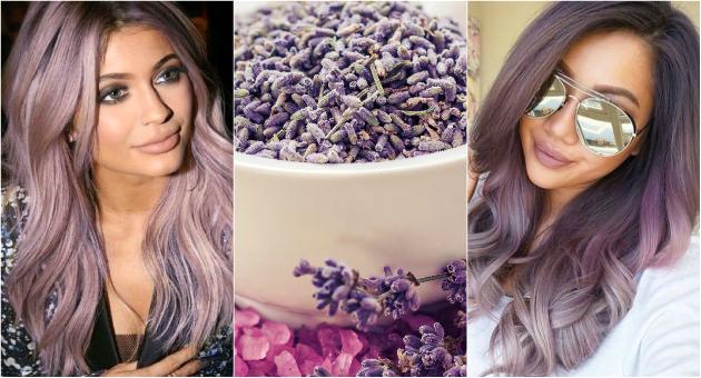 Пепелаво виолетова  Хит боја за коса во нијанси на лаванда