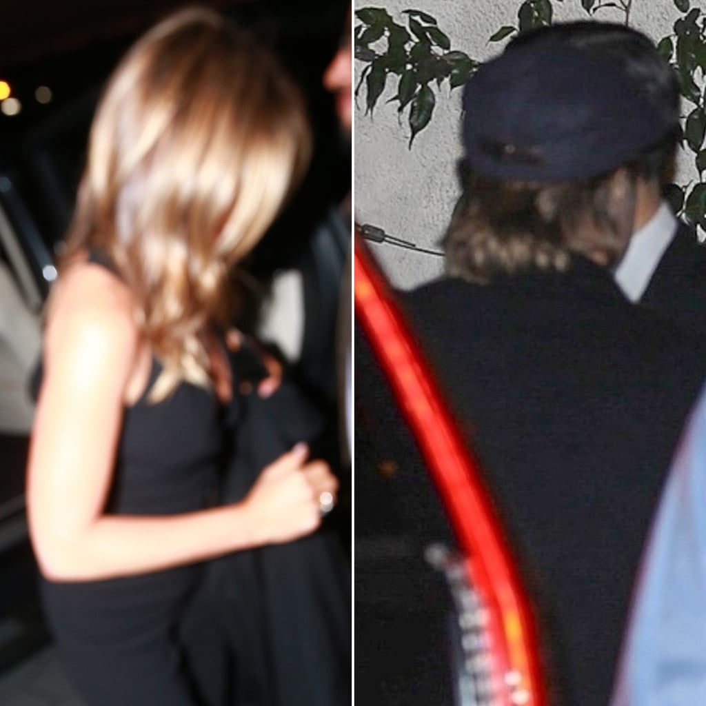 Brad Pitt Jennifer Aniston 50th Birthday Party Pictures