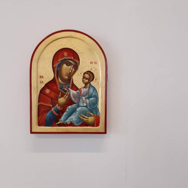 aleksandar velickovski crtanjeto ikoni znaci da se svedoci hristovoto ucenje i da se materijalizira nevidlivoto vo vidlivoto 3