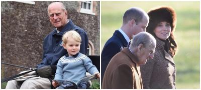 """Принцот Вилијам по смртта на Филип: """"Среќен сум што го имав како пример во животот, ќе ми недостасува дедо ми"""""""