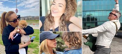 Аделина Тахири со синот во Gucci и Louis Vuitton jакни, Владо Јаневски на снимање: Што прават македонските ѕвезди на Инстаграм деновиве?