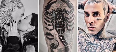 Името на бившата го покри со усните на Кортни – Највпечатливите тетоважи на Тревис Баркер и нивното значење