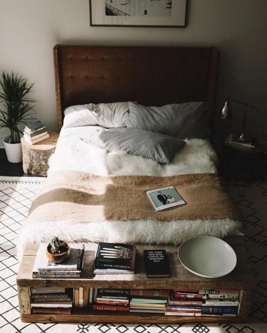 Bedroom benches on pinterest affordable modern furniture for Chambre urban outfitters