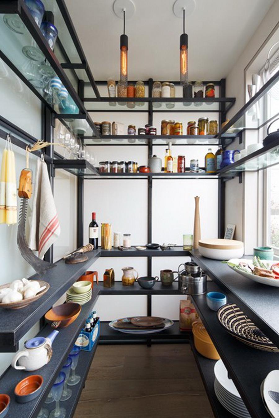 25 for Modern walk in pantry